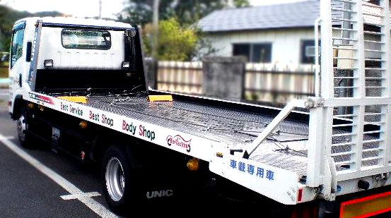 車の事故はロードサービスで!  宮沢自動車塗装 岩手県宮古市宮町4丁目5番29号